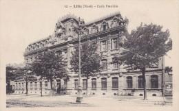 Cp , 59 , LILLE , École Franklin - Lille