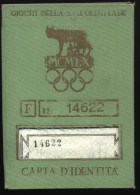 2902  Skip The Olympics In Roma Italy 1952 - Ohne Zuordnung