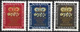 Geburt Des Erbprinzen 1945: Zu 207-209 Mi 240-242 ** Postfrisch MNH (Zumstein CHF 6.00) - Liechtenstein