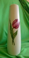 Vintage Germany SELTMANN WEIDEN Bavaria MONIKA VASE W. Tulip Floral Pattern - Seltmann-Weiden (DEU)
