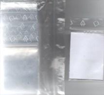 #781 Lindner 200 Poly-Beutel/Verschluß Größer Neu 4€ Schutz/Sortieren Figuren/Magnete 60x80mm For Stamp,coins Of World - Diddl