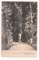 CP, 77, OZOIR-la-FERRIERE, Allée Des Marronniers, Château De La Doutre, Dos Simple, Vierge - Francia