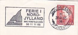1993 DENMARK Stamps COVER  SLOGAN Pmk  HOLIDAY NORD JYLLAND - Danimarca
