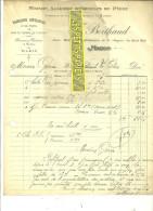 71 - Saône-et-loire - MACON - Facture BERTHAUD - Articles De Pêche - 1915 - REF 36 - 1900 – 1949