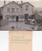 PHOTO DE PRESSE - CRECY LA CHAPELLE 77 SEINE ET MARNE - LA CHAPELLE SUR MORIN - CRUE - INONDATION - Lieux