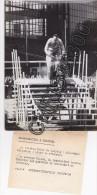 PHOTO DE PRESSE - MOTO SCOOTER SIMSON - FOIRE LEIPZIG - ALLEMAGNE - Automobile