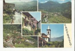 80543 CADENAZZO SVIZZERA BELLA CARTOLINA - TI Ticino