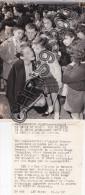 PHOTO DE PRESSE - MARINES 95 VAL D' OISE - CROIX ROUGE - AMITIE FRANCO AMERICAINE - Luoghi