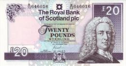 SCOTLAND 20 POUNDS 2010 PICK 354 UNC - Scozia