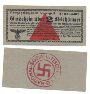 CAMP MONEY KRIEGSGEFANGENEN LAGERGELD PRISONER OF WAR - Non Classés
