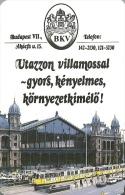 TRAM * TRAMWAY * RAIL RAILWAY RAILROAD TRAIN * CAR * WESTERN STATION * NYUGATI BUDAPEST * CALENDAR * BKV 1993 * Hungary - Calendriers