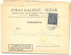SUSAK RIJEKA JURAJ GALOVIC YEAR 1932 CIJENIK Br.4 - PRICELIST -  RARE - Unclassified
