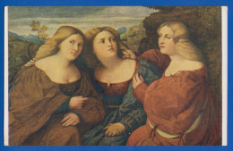 Malerei; Palma Vecchio; Die Drei Schwester; Kunstgallerie Dresden - Paintings