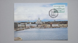 Finnland 567y, Maximumkarte MK/CM, SST HAFNIA '87, Südhafen In Helsinki - Maximumkaarten