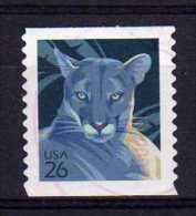 USA - 2007 - Wildlife/Florida Panther (1st Issue) - Used - Verenigde Staten