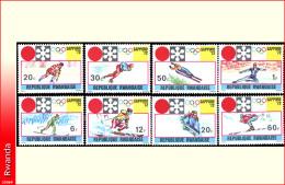 Rwanda 0443/50**    Jeux Olympiques d�hiver  MNH