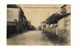 Cpa LA CHAPELLE DE LA TOUR Route De Morestel - Ohne Zuordnung