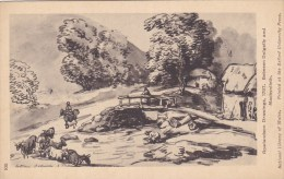 BETWEEN DOLGELLY AND MACHYNLLETH. ROWLANDSON DRAWINGS 1797 - Montgomeryshire