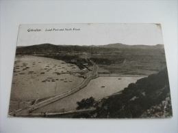 GIBILTERRA GIBRALTAR Land Port And North Front Piccolo Formato - Gibilterra