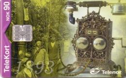 NORWAY PHONECARD TELEFON 1893 2/00-50000pcs- No 164-USED - Norwegen