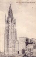 Saintes-clocher De L'eglise Saint Eutrope - Saintes