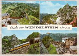 Wendelstein , Mehrbildkarte , Blick Vom Wendelstein Auf Bayrischzell , Suderfeld Und Zentralalpen - Wendelstein Mit - Miesbach