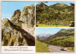 Bayrischzell - Alpenstraße - Sudlfeld - Tatzelwurm - Wendelstein , Mehrbildkarte - Miesbach