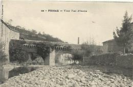 Ardeche : Privas, Vieux Pont D'Ouveze - Privas