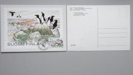 Finnland 920y Yt 884 Fa 922 Maximumkarte MK/CM, SST TEMBAL '83, Tordalken Im Nationalpark Östl. Finnischer Meerbusen - Finland