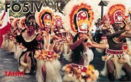 CARTE QSL : RADIO AMATEUR . TAHITI . 1993 - Radio Amateur