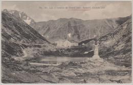 VS GRAND ST BERNARD 1924-VI-25 Gd St Bernard Lac Et Hospice Photo Dorsaz - VS Valais