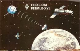 CARTE QSL : RADIO AMATEUR . SALERNES . FRANCE . 1992 . - Radio Amateur