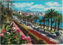 Sanremo: PANHARD DYNA 54, FIAT 600 & CABRIO, VW 1200 MAGGIOLINO, SCOOTERS - Passeggiata Imperatrie - Italia - Passenger Cars