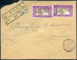 NOUVELLE CALÉDONIE - N° 150 (2)/ LR DE KONE LE 26/4/1939, POUR NOUMEA - B - Briefe U. Dokumente