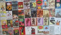 Lot De Plus 120 Cartes Postales Ou Promo  Illustrées / BD + Tracts + Marque Page BD - Postcards