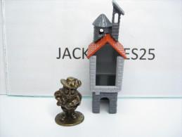 KINDER METAL CHATEAU   K98 N 103  1997  + BPZ - Figurines En Métal