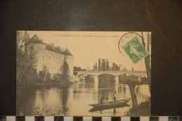 CP, 37, La Guerche Le Chateau Et Le Pont Sur La Creuse N°54 Edition C Algret Haye Descartes - Other Municipalities