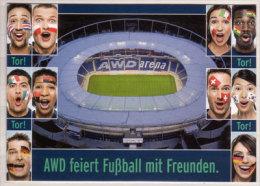 Edgar Card # 8.400 , AWD Feiert Fußball Mit Freunden - Werbepostkarten
