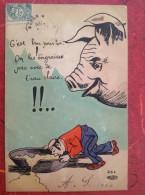 Humoristique Illustrateur COCHON On Les Engraisse Pas Avec De L'eau Claire DND - Pigs