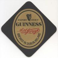 Guinness. Export Stout. Brewed In Dublin, Ireland. Harp. Harpe. Ireland. Irlande. Ierland. - Sous-bocks
