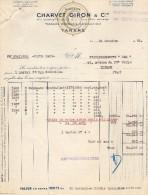 VP1098 -  Maison CHARVET - GIRON & Cie Rideaux à TARARE - Textilos & Vestidos