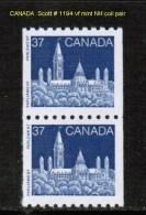 CANADA    Scott  # 1194** VF MINT NH COIL PAIR - 1952-.... Reign Of Elizabeth II