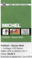 Fußball Katalog MICHEL Zur WM 2014 Brasilien ** 50€ Championat BRAZIL With Topic Soccer Stamp Catalogue Of All The World - Télécartes