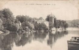Cp , 69 , LYON , Environs , L'Île Barbe - Lyon