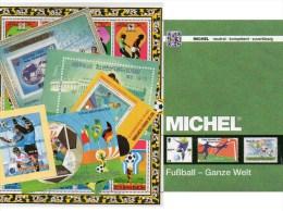 Fußball Katalog MICHEL Zur WM BRAZIL 2014+Brasilien 2264/7,Mongolia Block A89 **/o 245€ FIFA ESPANA`82 AD Italy Champion - Sport