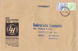 Belgien / Belgium - Brief Echt Gelaufen / Cover Used (t539) - Belgien