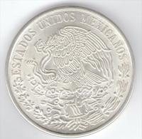 MESSICO 100 PESOS 1977  AG SILVER - Messico