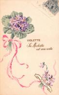 ¤¤  -  Carte Fantaisie  -  Fleurs , Violette  -  Bonne Fête   -  ¤¤ - Fleurs, Plantes & Arbres
