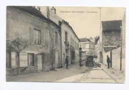 Fontenay-en-Parisis. Une Ruelle. - France