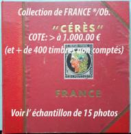 FRANCE / COLLECTION - COTE > 1000.00 EUROS / 15 PHOTOS (ref 1033) - France